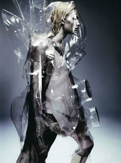 Futuristic fashion... and you thought lady gaga was weird!
