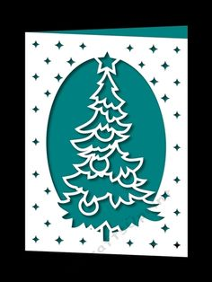 Download Free Christmas card SVG File | Cricut christmas cards ...