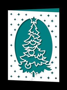 Download Free Christmas card SVG File | Cricut christmas cards ...