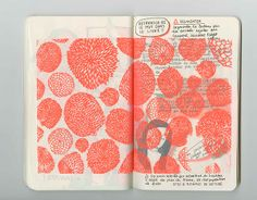 Everyday notebooks by Marine BU, via Behance http://marinebu.com/ http://instagram.com/belzebabe