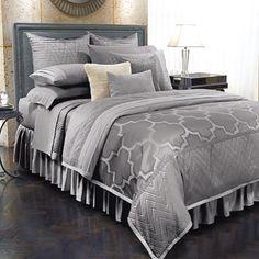 I love this bed set...Jennifer Lopez bedding collection Old Hollywood @ kohls.com