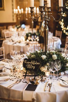 Same-Sex Winter Wedding and Harry Potter Table Names – Wedding Centerpieces Wedding Table Names, Wedding Table Decorations, Wedding Themes, Winter Decorations, Party Themes, Wedding Ideas, Harry Potter Table, Theme Harry Potter, Harry Potter Wedding Dress