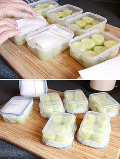 Conservez vos légumes frais et croquants beaucoup plus longtemps avec ces simples astuces! - Cuisine - Trucs et Bricolages