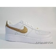 6256e5b4d345f7 Air Force 1 Low Cr7 Gold Logo White Bottom Top Deals