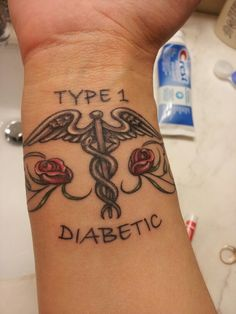 Type 1 diabetes tattoo praying for a cure pinterest for Allergic reaction to tattoo ink treatment