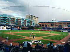 April 7, 2016 - Opening Day at Durham Bulls Athletic Park, the home of the Durham Bulls of the AAA International League.