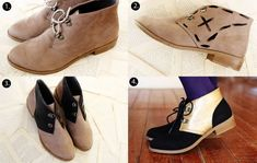 Color Blocked DIY Shoes, 18 Crafty DIY Boot Makeovers