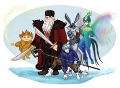 Rise of the Guardians by emmilinne