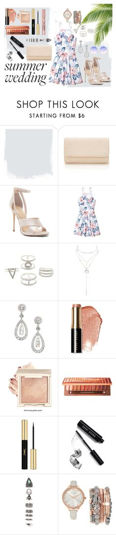 """""""Best dressed guest"""" by rebeckarosdahl ❤ liked on Polyvore featuring Hollister Co., Charlotte Russe, Bobbi Brown Cosmetics, Urban Decay, Yves Saint Laurent, L'Oréal Paris, Nasty Gal, Jessica Carlyle and Skinnydip"""