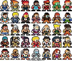 8-bit creations: STREET FIGHTER