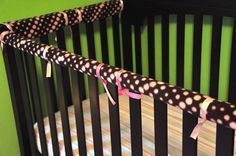 crib railing cover