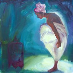 """Saatchi Online Artist: Roberta Di Gregorio; Oil, 2011, Painting """"Dream"""""""