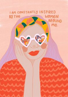 Illustration by Emmy Smith. Beautiful and inspirational illustrations or words that encourage women to empower each other and embrace feminism. Vie Motivation, Feminist Art, Feminist Quotes, Feminist Apparel, Powerful Women, Ladies Day, Girl Boss, Strong Women, Girl Power
