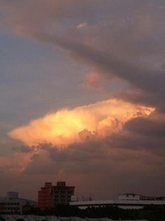 #CDMX cumulonimbus