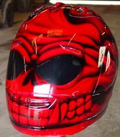 This is how I plan on having my helmet