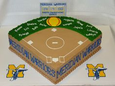 softball cakes | Tiers of Joy Cakery: Softball Field Birthday Cake - Apr. 2013