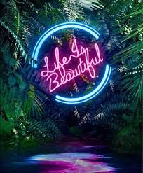 Image result for neon sign 80's