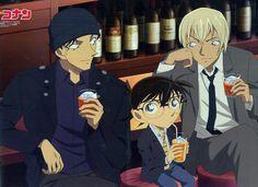 Akai and Bourbon 3 by Ayato-msoms Conan Movie, Detektif Conan, Manga Anime, Bourbon, Super Manga, Konan, Otaku, Detective Conan Wallpapers, Kaito Kid
