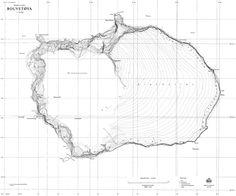 Deux cartes de l'île de Bouvet - La boite verte