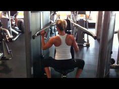 Female Fitness Model Workout - Shoulder Exercises For Women