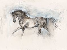Horse Canvas Painting, Bull Painting, Painting & Drawing, Abstract Art For Sale, Original Art For Sale, Horse Drawings, Cool Art Drawings, A Level Art Sketchbook, Horse Artwork