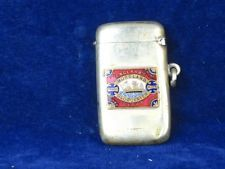 Old Vintage Match Vesta England's Glory Matchbox Packet  Box Safe Enamel Sign