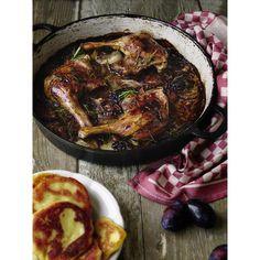 Kachní stehna na švestkách | Coolinářka