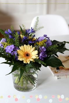 Flowers that uplift ... little touches of joy