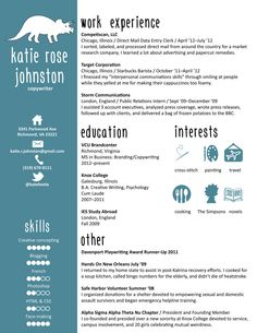 Here's the condensed, printable version of my resume. #tcheese ...
