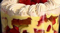 TUTTI INSIEME: Trifle alle fragole