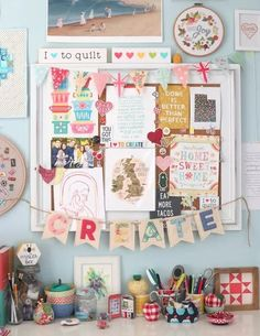 These are a ew of my favorite things - Amy Smart Diary of a Quilter Quilting Designs, Machine Embroidery, Gallery Wall, Quilts, Sewing, Create, Blog, Pattern, Banners