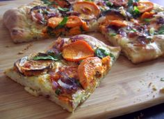 Roasted Sweet Potato Pizza