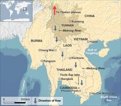 2 November 2012:    Cambodia's government has approved a controversial hydroelectric dam on a tributary of the Mekong River.    Damming the Mekong River has caused widespread controversy in South East Asia.    Although hydroelectric dams allow countries to generate vast amounts of electricity, they also threaten massive changes to the ecosystem across the Mekong basin.