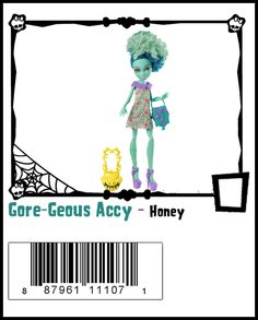 Gore-Geous Accy-Monster High Doll Checklist