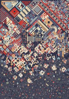 City of Morphologies, Alessandro Magliani - AA Archives
