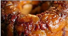 Caramel Bacon Monkey Bread Recipe Breads, Breakfast and Brunch with bacon, butter, biscuit dough, unsalted butter, sugar, brown sugar, caramel candies, maple syrup, cinnamon, salt