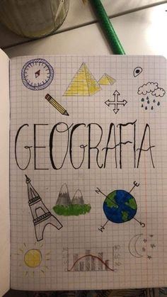Lettering Tutorial, Hand Lettering, Drawing School, Bullet Journal School, Custom Notebooks, School Notebooks, Decorate Notebook, School Subjects, School Notes