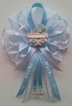 $11.00 ♥ Mommy Baby shower corsages ♥ All available items are listed for sale on Ebay at: http://myworld.ebay.com/fancylittlefavors1/