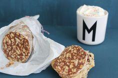 Schokoladensalami- für die besten Butterbrote der Welt | mamablog-mamamia.com | Bloglovin'