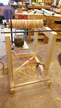 Shop built Thickness-Drum Sander - I might just need to build one of these