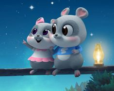 Mice 🎺 Chibi Wallpaper, Cute Disney Wallpaper, Kawaii Wallpaper, Cute Wallpaper Backgrounds, Cute Cartoon Wallpapers, Cute Rabbit Images, Cute Images For Dp, Cute Pictures, Cute Couple Cartoon