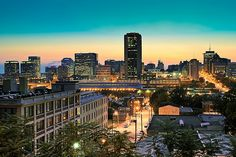 Lovely photo of downtown RVA