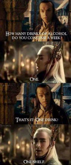 #Thranduil #Elrond #funny