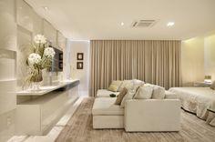 Quarto do Casal : Quartos modernos por Arquitetura e Interior