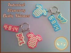 Llavero Baby Shower - Baby Dots - YouTube