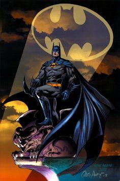 Batman (by:Greg Adams) Batgirl, Nightwing, Batman And Superman, Batman Robin, Spiderman, Batman Stuff, Batman Artwork, Batman Wallpaper, Dc Heroes