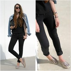 #ESPADRILLES #SUMMER #SPRING #TOTAL #BLACK #LEOPARD #DENIM #JACKET