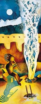 artist Kathy Cooney   Kathy Cooney, Whispering Smoke We have this delightful print.