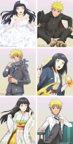 Naruto e Hinata (NaruHina) Naruhina, Naruto Uzumaki, Anime Naruto, Manga Anime, Naruto Comic, Naruto Cute, Kakashi Sensei, Naruto Sasuke Sakura, Hinata Hyuga