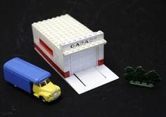 Lego Set 236 GARAGE + TRANSPORT BEDFORD TRUCK + Busch in Wetzikon ZH kaufen bei ricardo.ch